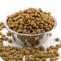 Be careful not to overfeed. Generally, portion as much as the puppy can consume in 5 to 10 minutes at a given meal.